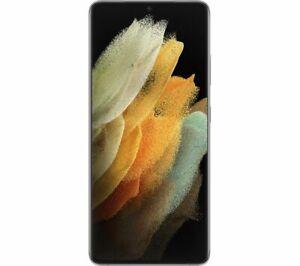 """SAMSUNG Galaxy S21 Ultra 128GB 6.8"""" SIM-free Smartphone Phantom Silver - Currys"""