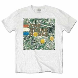 The-Stone-Roses-T-Shirt-Original-Album-Cover-Officially-Licensed-Mens-White-Tee