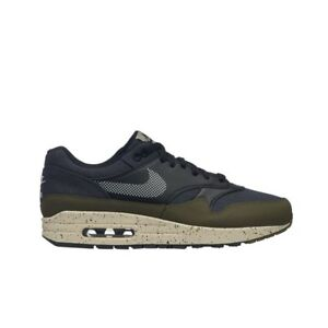 ad35fcd7720 Nike Air Max 1 SE (Medium Olive Light Cream-Black) Men s Shoes ...