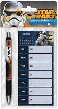 Star Wars Saga 2015 Weekly Calendar with Pen Calendar – August 1, 2014
