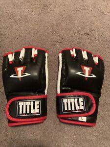 Title MMA Performance Hybrid Sparring Gloves