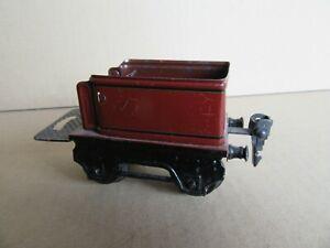 969I-Rare-Marklin-Tender-9690-Brun-Rougeatre-Zero-O