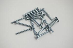 100 X M4 20MM SCREWS HANDLE BOLTS FOR KITCHEN BEDROOM CABINET CUPBOARD DOORS