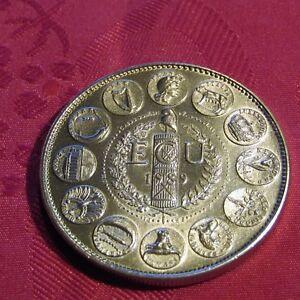 Moneda Tesoro De Heritage, Escudo 1989_ Europa + Cápsula