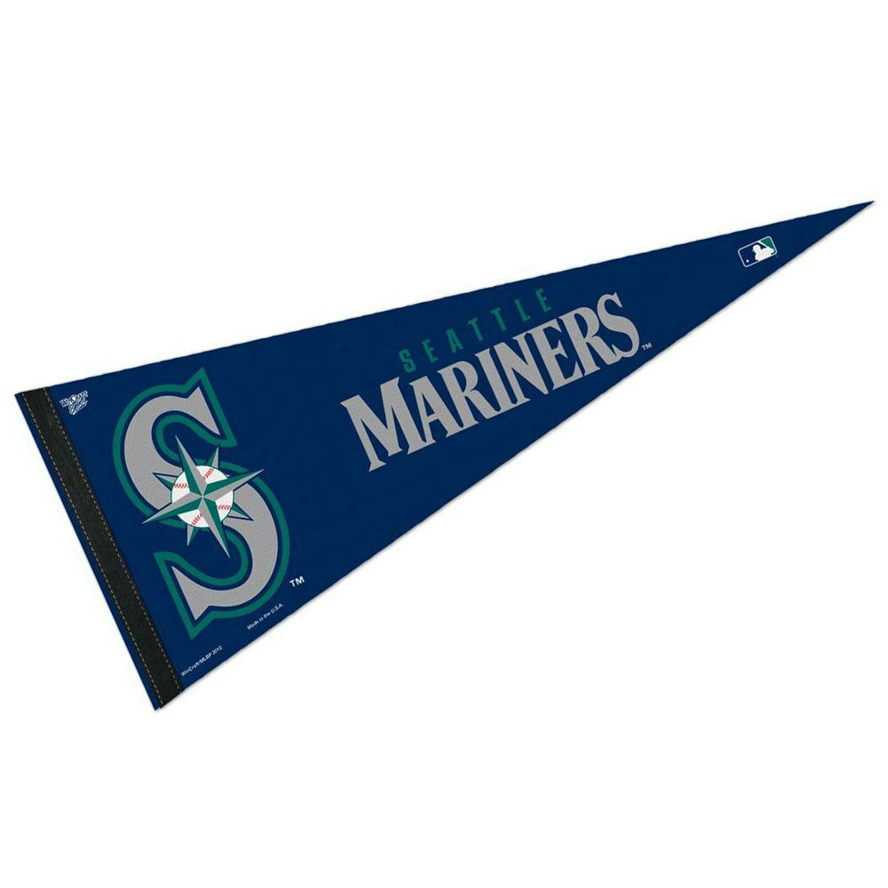 Seattle Mariners MLB Officiellement Sous Licence MLB Mariners Pennant 5394b6