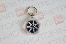 Saab 9-5 95 keyring - 7 spoke alloy wheel style auto keytag