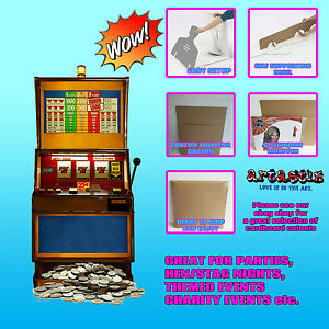 Fruit Machine Cardboard Cutout Great For Special Occasions Sc140 Ebay