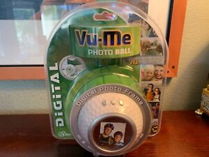 Vu-Me-Golf-Digital-Photo-Frame-Sealed-Stores-70-Photos-Vintage-Rare