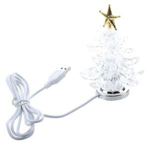 USB-Miniatura-alimentata-Albero-di-Natale-Con-multicolore-LED-A1D9