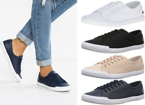 Womens-Lacoste-Shoes-Lancelle-6-Eye-Sneakers-Lancelle-Shoes-NEW