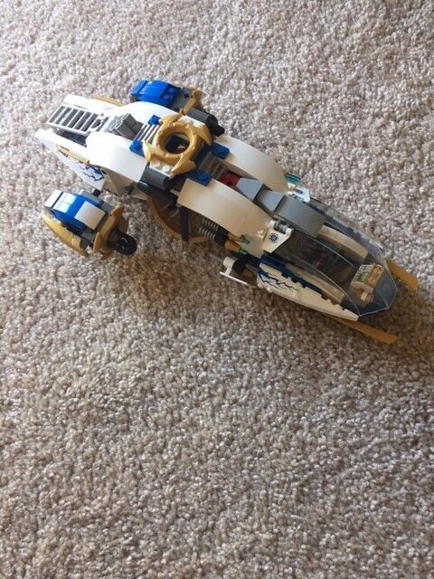 LEGO NinjaCopter 70724  model built, without minifigures, and only with plane
