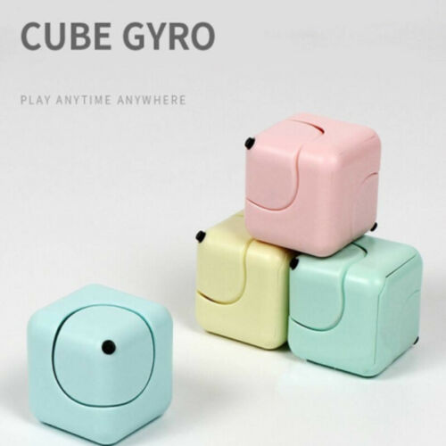 Fidget Spinning Gyro Cube Magic Cube Hand Spinner EDC Gifts Stress Reducer Desk