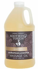 European Lavender Massage Oil HALF Gallon by Soothing Touch, New, 303863-05