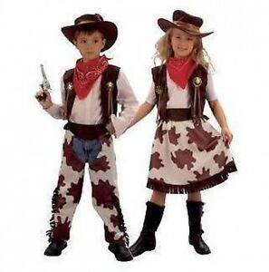 Image is loading BOYS-GIRLS-COWBOY-COWGIRL-OUTFIT-FANCY-DRESS-COSTUME  sc 1 st  eBay & BOYS GIRLS COWBOY COWGIRL OUTFIT FANCY DRESS COSTUME | eBay