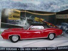 1/43 Mercury James Bond ON HER MAJESTY'S SECRET SERVICE   007 series  diorama