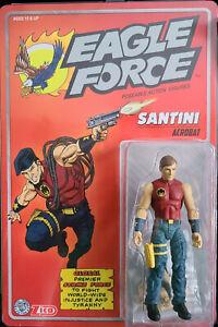 "Eagle Force Returns Kickstarter 4"" Action Figure Series 01 - Santini"