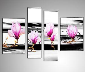 Quadri moderni astratti dipinti a mano olio su tela for Quadri moderni orchidee