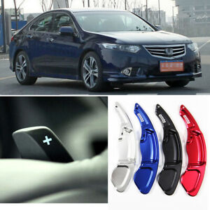 For-Honda-SPIRIOR-2PCS-Steering-Wheel-DSG-Paddle-Shifters-Extension-Aluminum