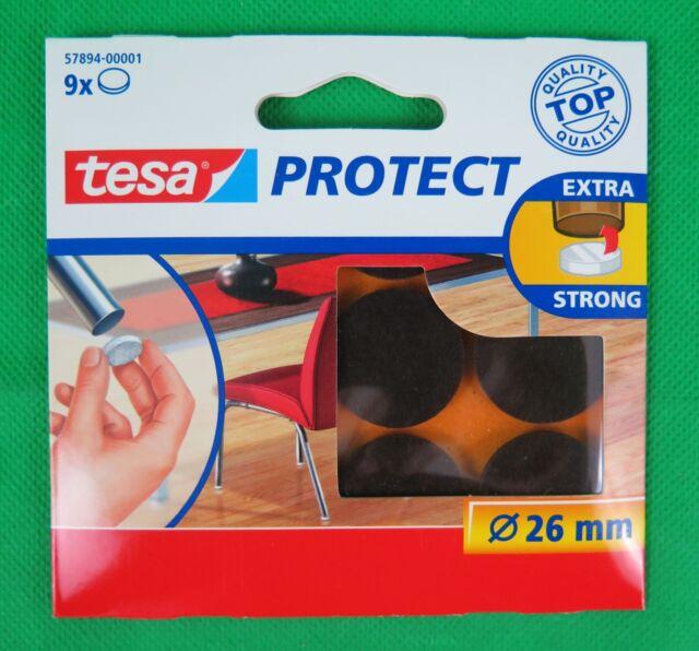 tesa Protect Filzgleiter braun Durchmesser 26 mm