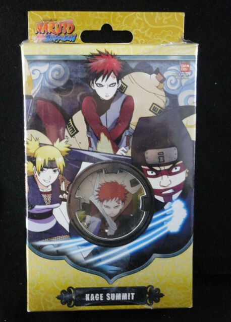 Manual Marker Cards Mat Naruto Will of Fire TCG CCG Naruto Starter Deck