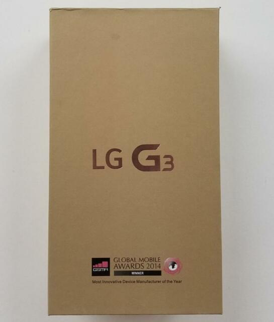 NEW LG G3 D851 -32GB- Black (T-Mobile) In Original Box