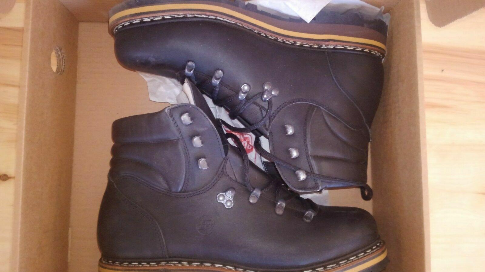 Hanwag hiking boots US11.5 M greenten - brown