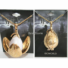 Harry Potter & the Goblet Of Fire Egg Pendant Necklace Triwizard Tournament NEW
