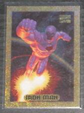 1994 Marvel Masterpieces Iron Man #5 GOLD HOLOFOIL Insert Card NM/M Jumbo Packs