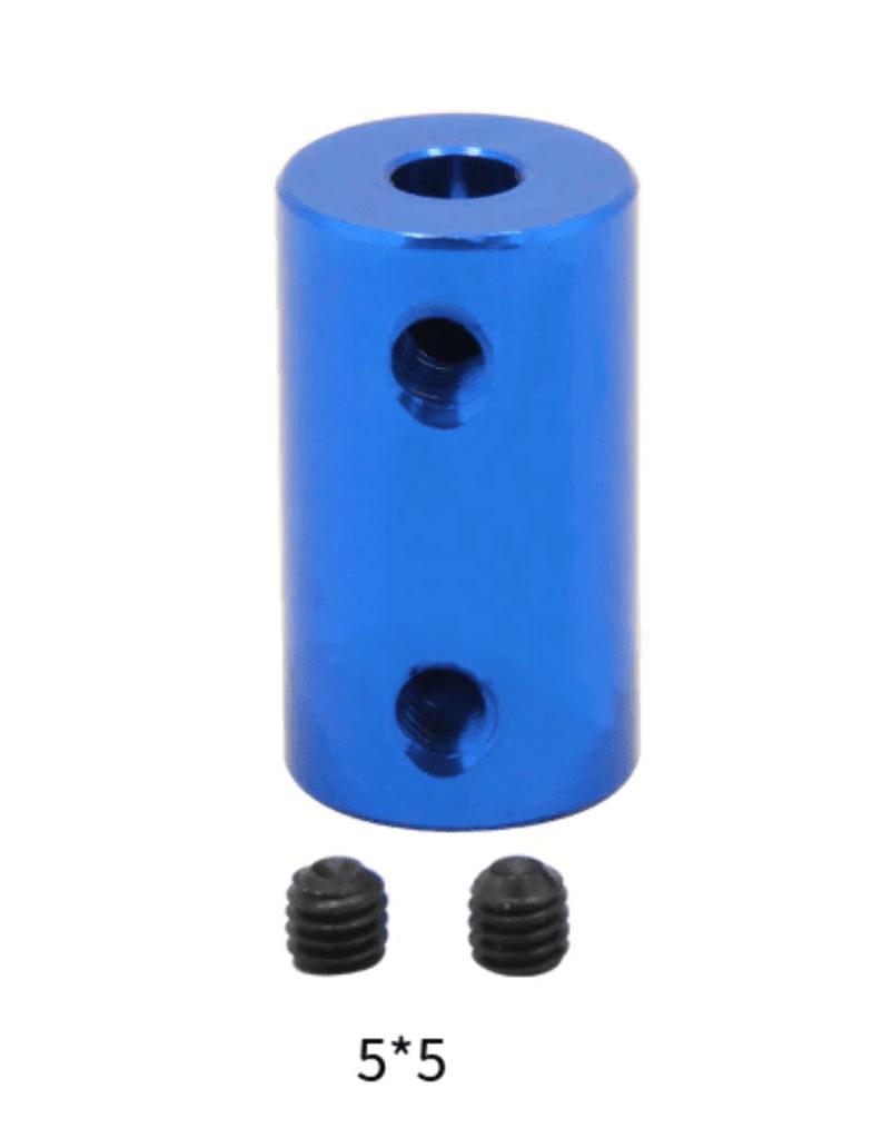 1/single 5X5X25mm Aluminium Alloy Flexible Shaft Coupler + Allen key Screw / ...