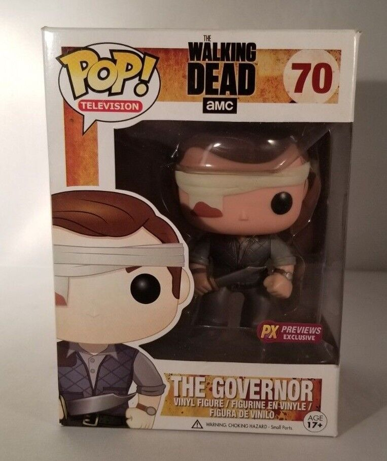 Funko POP Figure - Walking Dead The Governor Bloody PX PREVIEWS EXCLUSIVE