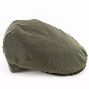 Image is loading Mucros-Olive-Green-Wax-Trinity-Cap-Hat-Made- fe919d9abab8