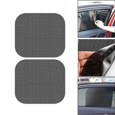 Auto Side Window Mesh Film Windshield Net Sunshade Car Sticker UV e Protection