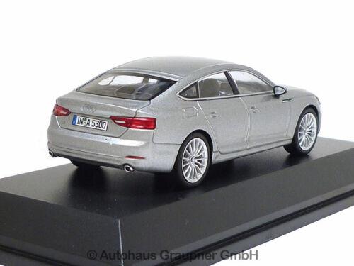 Audi A5 Sportback 1:43 Florettsilber 5011605031 Modellauto Minimax Silber