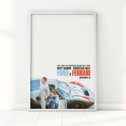 Ford V Ferrari-Le Mans 66 Filme Poster Impressão Arte Cinema Filme 2019-A2 A3 A6