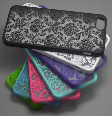 Vintage Damask Pattern Matte Hard Case Cover Skin For Apple iPhone 5S 6 6Plus 4S