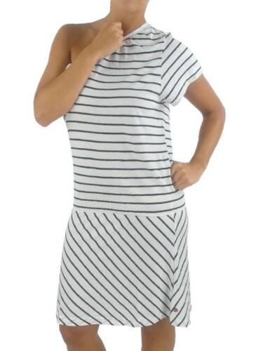 O/'Neill Kleid Dress Sommerkleid Iskur weiß schwarz Schulterfrei NEU