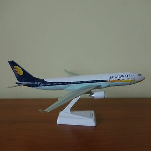 Details about 1/200 Jet Airways Airbus A330-200 Airplane Desk Display Model