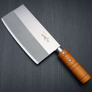 japanese fuji cutlery chinese chef 39 s knife cleaver chopper. Black Bedroom Furniture Sets. Home Design Ideas