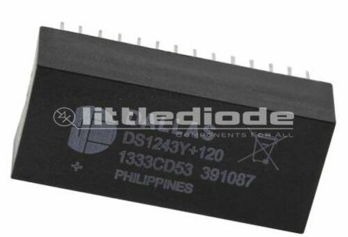 Maxim DS1243Y-120 NVRAM memoria 120ns 5V 28-Pin Markaya