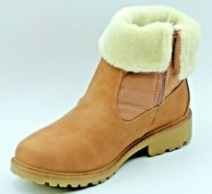 Ankle-boots-womens-36-37-38-39-40-41-rising-furry-brown-camel