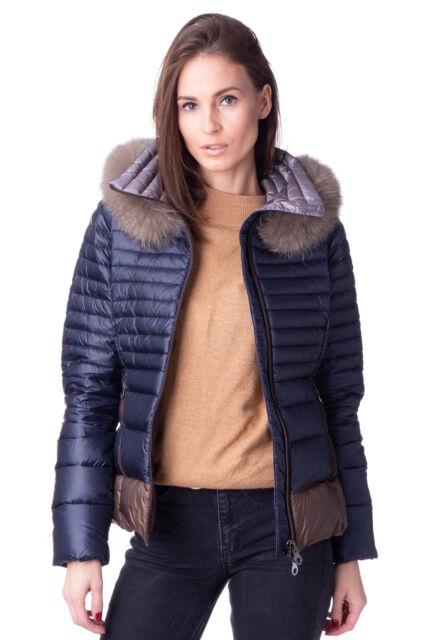DUVETICA Down Quilted Jacket Size 44 / M Detachable Fur Trim & Hood RRP €489