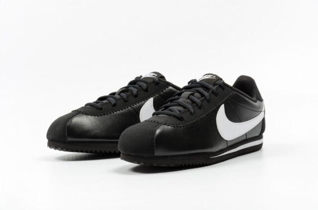 Nike Cortez (GS) Black White forrest