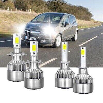 For Vauxhall Astra H mk5 2004-2009 High Main Beam H1 Xenon Headlight Bulbs Pair