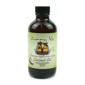 (7,62€/100ml) Sunny Isle Jamaican Organic Extra Virgin Coconut Oil 4oz 118ml - München, Deutschland - (7,62€/100ml) Sunny Isle Jamaican Organic Extra Virgin Coconut Oil 4oz 118ml - München, Deutschland