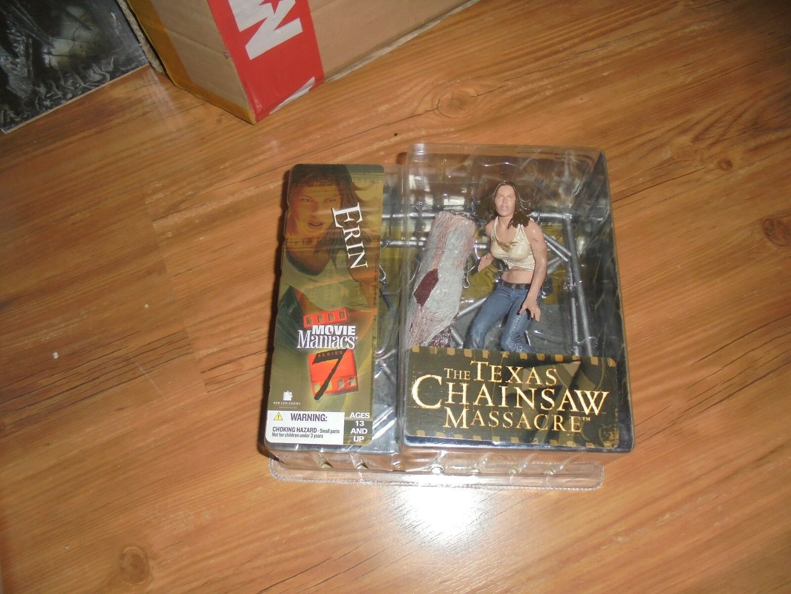 The Texas Chainsaw Massacre  ERIN  MM7 Action Figure McFarlane 2004