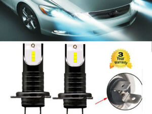 2x-H7-CSP-LED-Ampoule-Voiture-Feux-Lampe-Kit-Phare-Headlight-Blanc-110W-30000LM