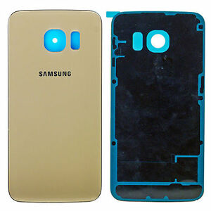 Couverture-Arriere-Couvre-Batterie-pour-Samsung-Galaxy-S6-Edge-Gold-or-G925F