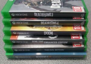 Bundle-Joblot-of-6-Adult-Horror-Xbox-One-Games-Preowned-Fast-Dispatch