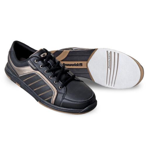 7 Negro Zapatos 7 2 y 1 de Tamaños 8 Dorado hombre para Brunswick Capitán bowling nrvqzrB7Y