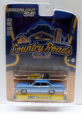 1:64 Greenlight Country Roads Series 15 - 1967 Ford Galaxie 500 NICS